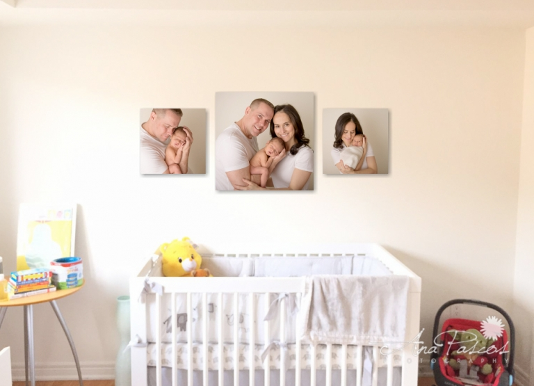 Printing Your Portraits with top newborn photographer